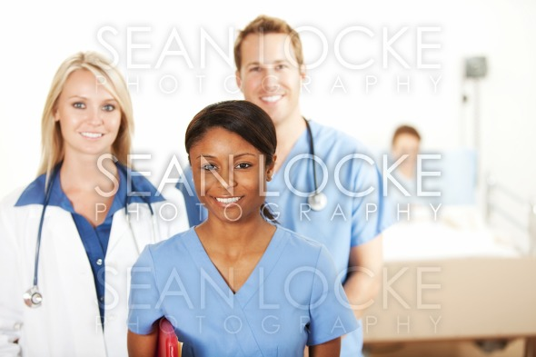 Hospital: Group of Medical Professionals Stock Photography Content by Sean Locke