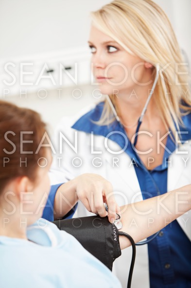 Hospital: Focus on Stethoscope Stock Photography Content by Sean Locke