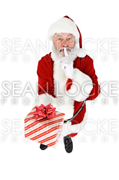 Santa: Keeping Present a Secret Stock Photography Content by Sean Locke