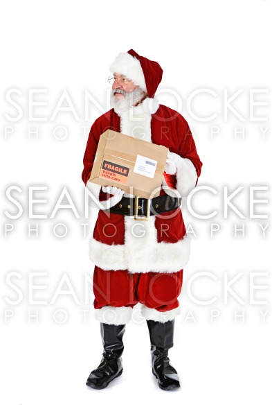 Santa: Ready to Ship Package Stock Photography Content by Sean Locke