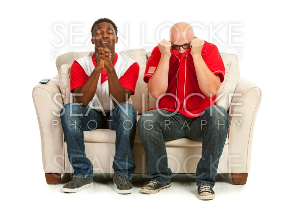 Fans: Praying for a Good Play Stock Photography Content by Sean Locke