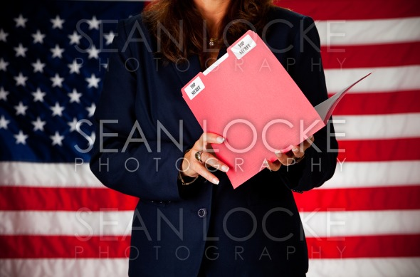 Politician: Top Secret Information Stock Photography Content by Sean Locke