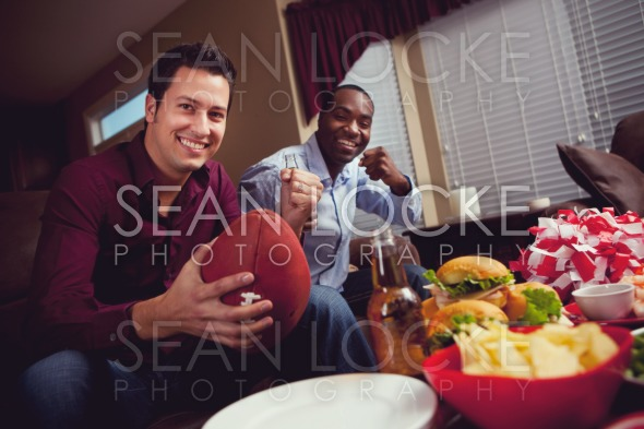 Football: Football Fans Cheering on The Team Stock Photography Content by Sean Locke