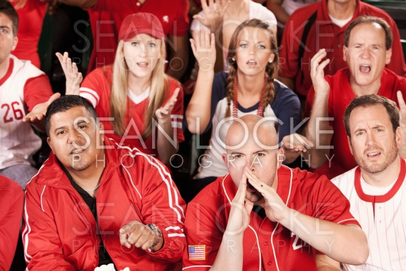 Fans: Angry Fans Boo the Play Stock Photography Content by Sean Locke