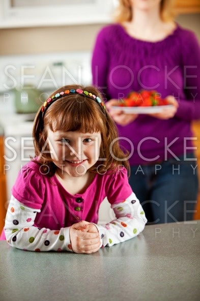 Kitchen Girl: Stock Photography Content by Sean Locke