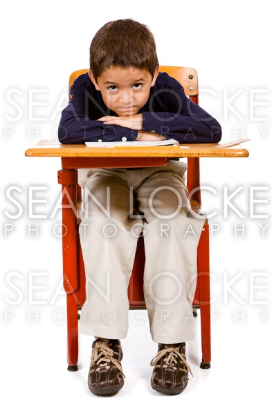 Student: Frustrated Hispanic Student Stock Photography Content by Sean Locke
