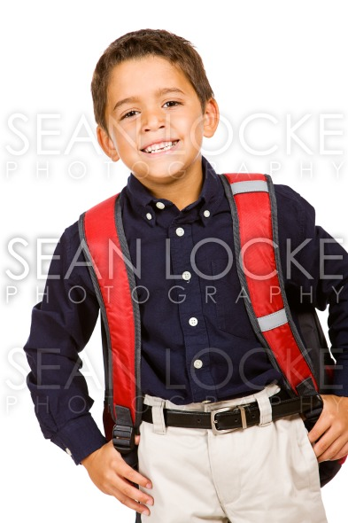 Student: Cute Student Ready for School Stock Photography Content by Sean Locke