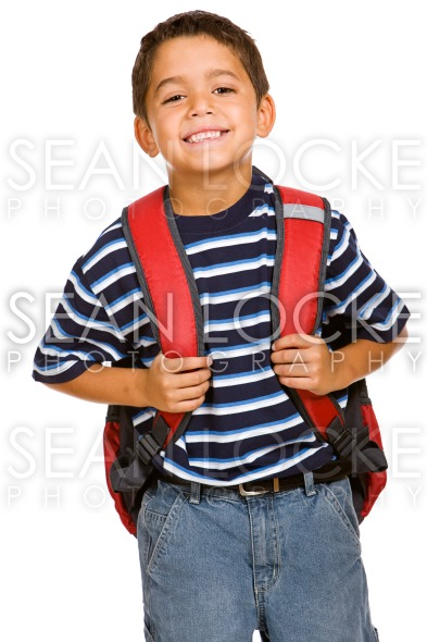Student: Cheerful Boy Going to School Stock Photography Content by Sean Locke