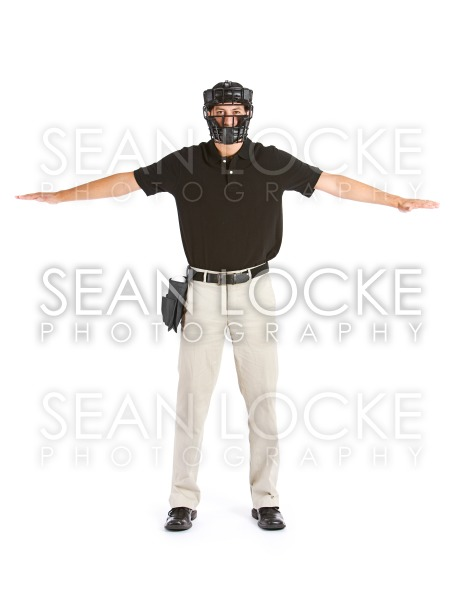 Baseball: The Runner Is Safe Stock Photography Content by Sean Locke