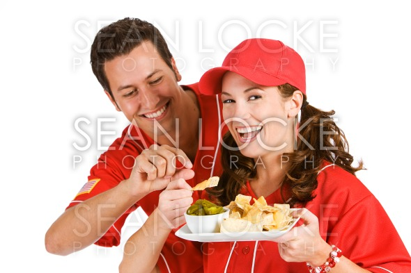 Baseball: Nacho Stealer Stock Photography Content by Sean Locke