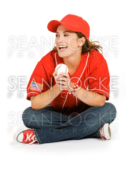 Baseball: Baseball Fan Laughing Stock Photography Content by Sean Locke