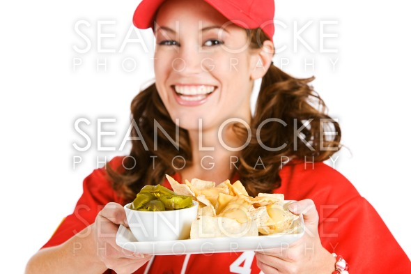 Baseball: Focus on Nacho Snack Stock Photography Content by Sean Locke