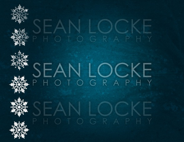 Holiday: Grunge Christmas Snowflake Background Stock Photography Content by Sean Locke