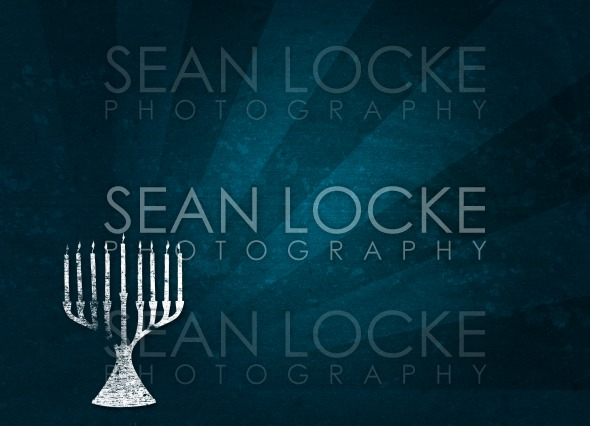 Holiday: Hanukkah Grunge Background Stock Photography Content by Sean Locke