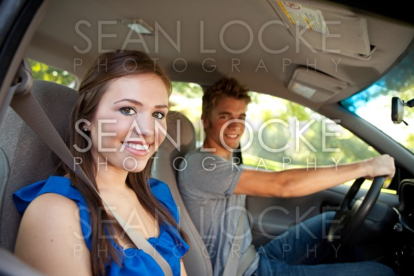 Driving: Teens in Car Stock Photography Content by Sean Locke