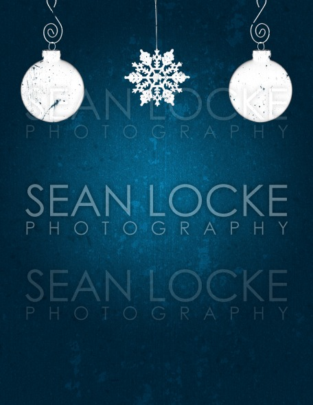 Holiday: Christmas Ornament Grunge Background Stock Photography Content by Sean Locke