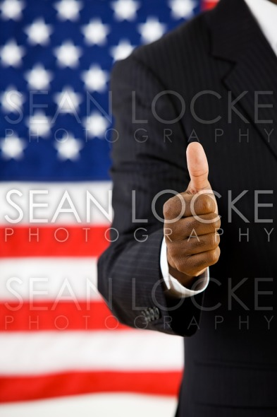 Politician: Man with Positive Attitude Stock Photography Content by Sean Locke