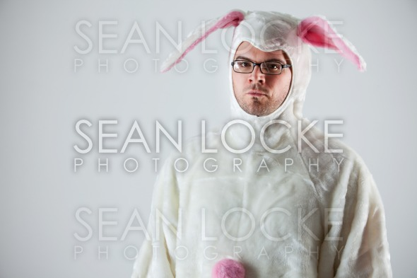 Bunny: Serious Rabbit Man Stock Photography Content by Sean Locke