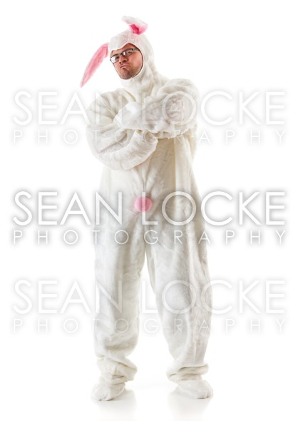 Bunny: Tough Man Bunny Guy Stock Photography Content by Sean Locke