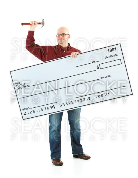 Check: Man Ready for Home Improvements Stock Photography Content by Sean Locke