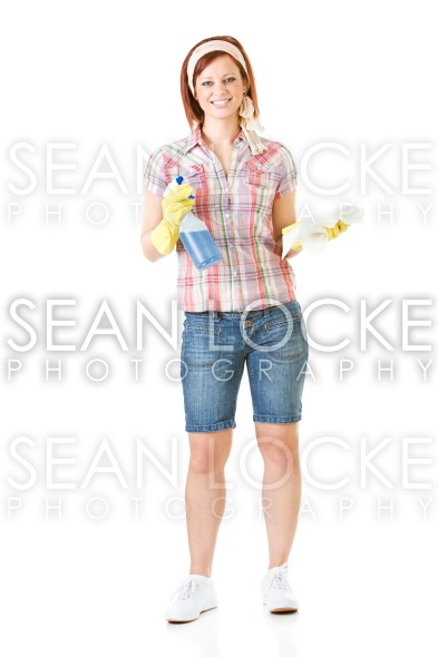 Cleaning: Ready to Spray and Clean Stock Photography Content by Sean Locke