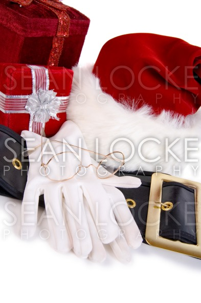 Christmas: Santa Items and Christmas Presents Stock Photography Content by Sean Locke