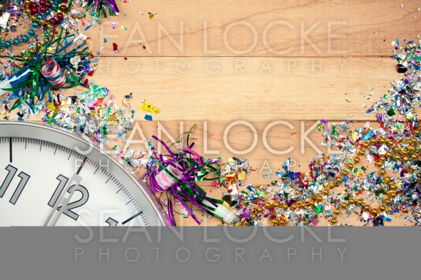 New Year's: New Year Party Celebration Background Stock Photography Content by Sean Locke