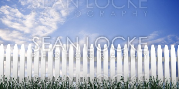 3d: Fence Stock Photography Content by Sean Locke
