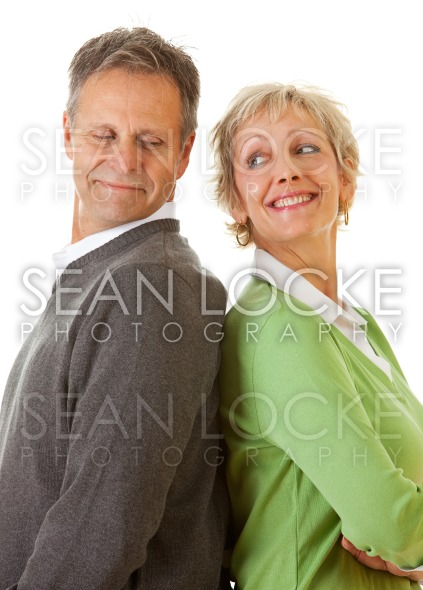 Couple: Man and Woman Standing Together Stock Photography Content by Sean Locke
