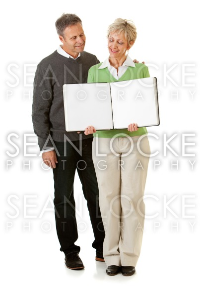 Couple: Holding an Open Scrapbook Stock Photography Content by Sean Locke