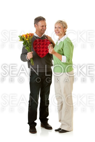 Couple: Surprises for Valentine's Day Holiday Stock Photography Content by Sean Locke