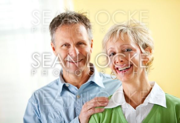 Couple: Confident Mature Couple Stock Photography Content by Sean Locke