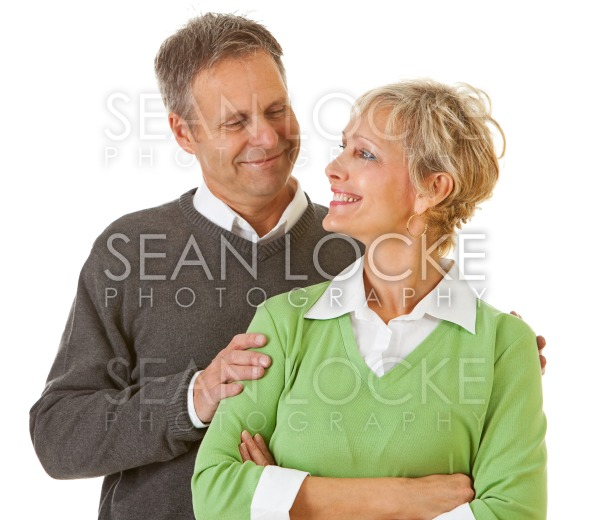 Couple: Man and Woman Face to Face Stock Photography Content by Sean Locke