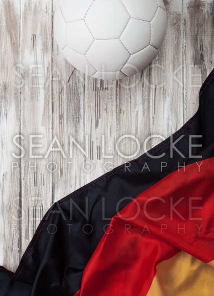 Soccer: German Background For International Competition Stock Photography Content by Sean Locke