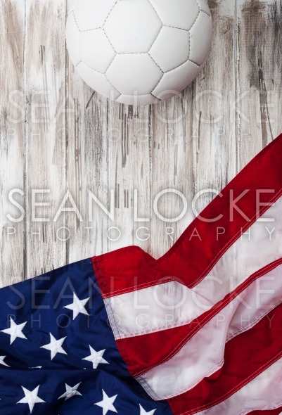 Soccer: USA Flag Background For International Competition Stock Photography Content by Sean Locke