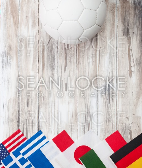 Soccer: Multi-National Flag Background For International Competition Stock Photography Content by Sean Locke