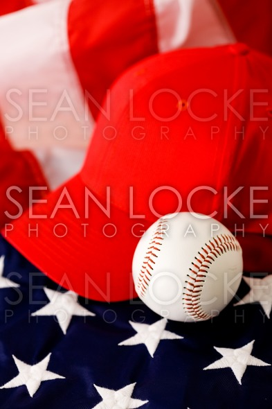 Baseball: Baseball Cap and Ball Stock Photography Content by Sean Locke