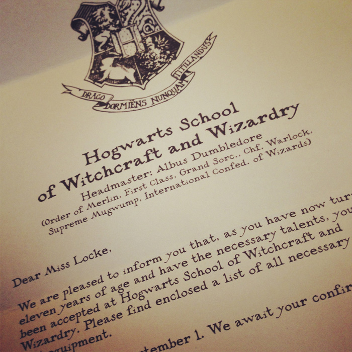 Youve Been Accepted To Hogwarts – Hogwarts Acceptance Letter