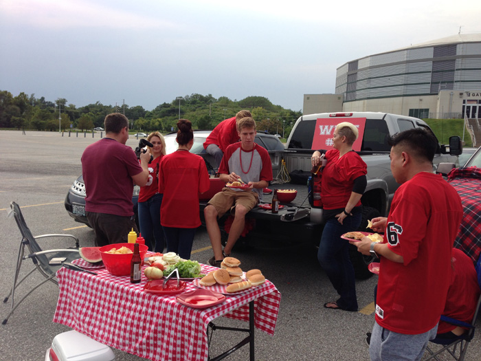 Tailgate Party Behind The Scenes